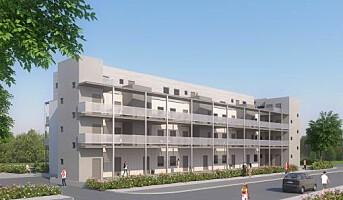 Nytt leilighetsprosjekt for Moelven Byggmodul AS