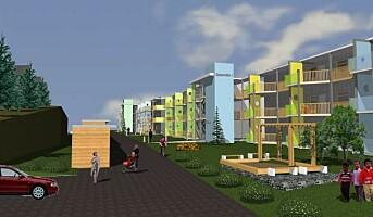 Bygger 39 leiligheter på et halvt år