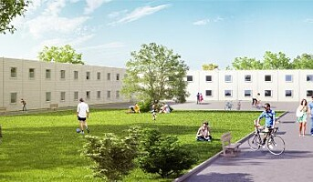Bygger nye, rimelige og høstklare studentboliger på Kringsjå