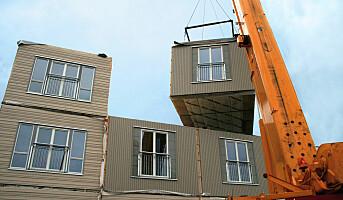 Gode resultater etter tilsyn med bygningsmoduler