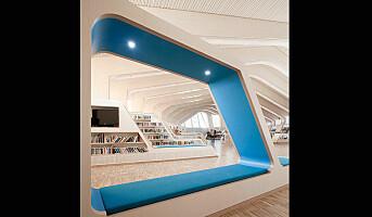 Vennesla Bibliotek kåret til verdens fjerde vakreste