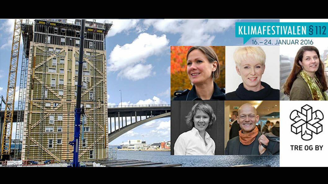 Arrangementet er Tre og Bys bidrag til Klimafestivalen § 112. Festivalen består av over 100 arrangementer over hele Norge.