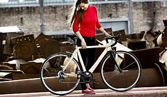 Suksess med sykkel av tre