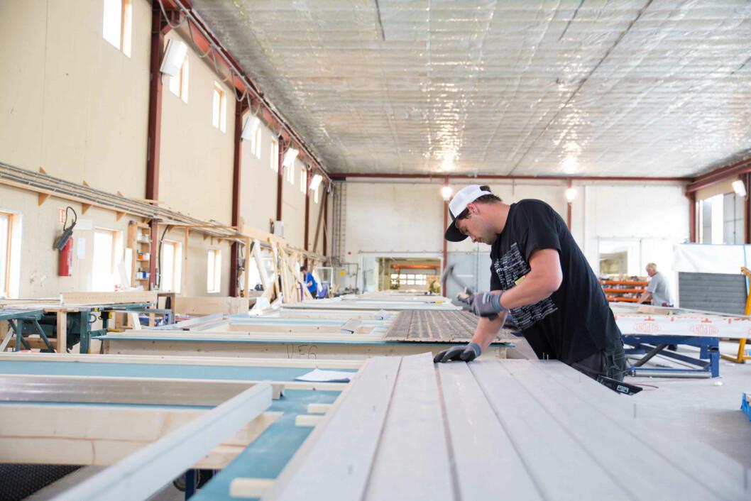 Optimera Byggsystemer har nå produksjonssteder på Ilseng, Andebu, Stangeland og Tysnes. (Illustrasjonsfoto: Optimera)