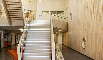 Film og bilder: Sveriges første skole i massivtre