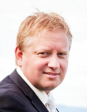 Markeds- og utviklingsdirektør Knut Alstad i HENT AS