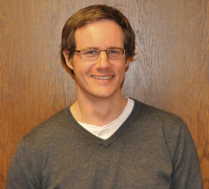 Seniorforsker Ulrich Hundhausen i Norsk Treteknisk Institutt ledet studien i Norge. (Foto: Treteknisk)