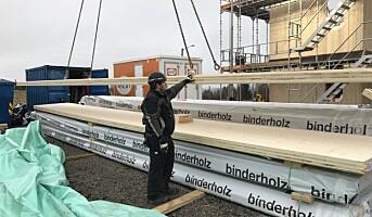 Første massivtreprosjekt for Nordbolig
