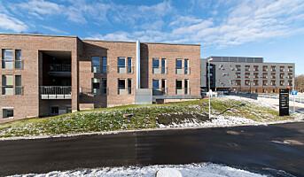 Brannsikker fasade for Norges største pleiehjem i massivtre