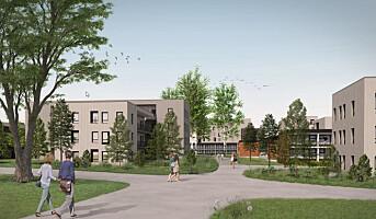 Skal bygge 795 studenthybler i massivtre på Ås