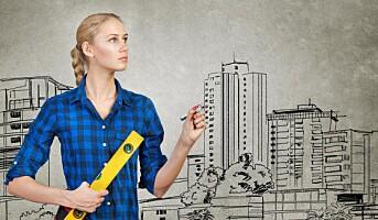 Hvordan få flere kvinner til å velge byggenæringen?