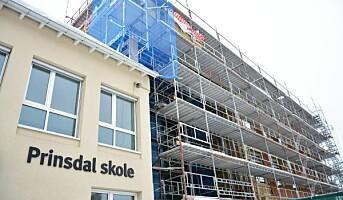 Massivtrebygget på Prinsdal er snart klart