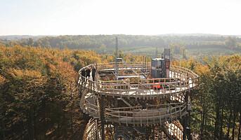 Tretopptårnet på Sjælland er åpnet