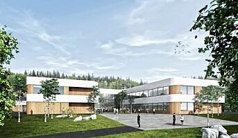 Veidekke bygger svanemerket skole i Røyken