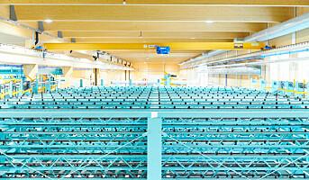 Splitkon åpnet verdens største massivtrefabrikk