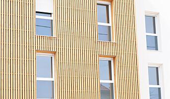 Ny rapport:Brannhemmet tre i fasader
