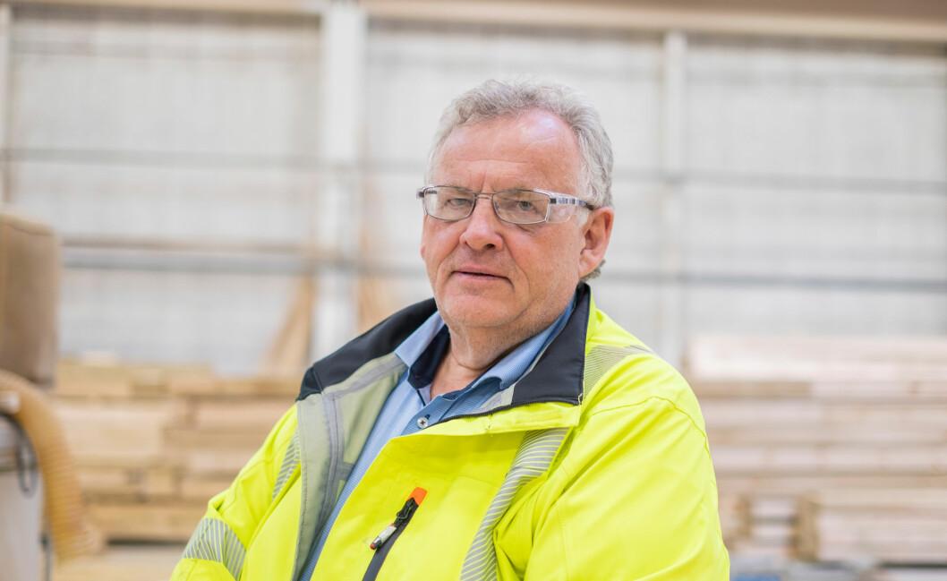 Konsernsjef Morten Kristiansen. (Foto. Moelven)