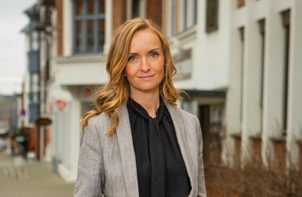 Karen Ristebråten har lang fartstid i IT-bransjen, med erfaring fra blant annet Relacom og Atea. (Foto: Hunton)