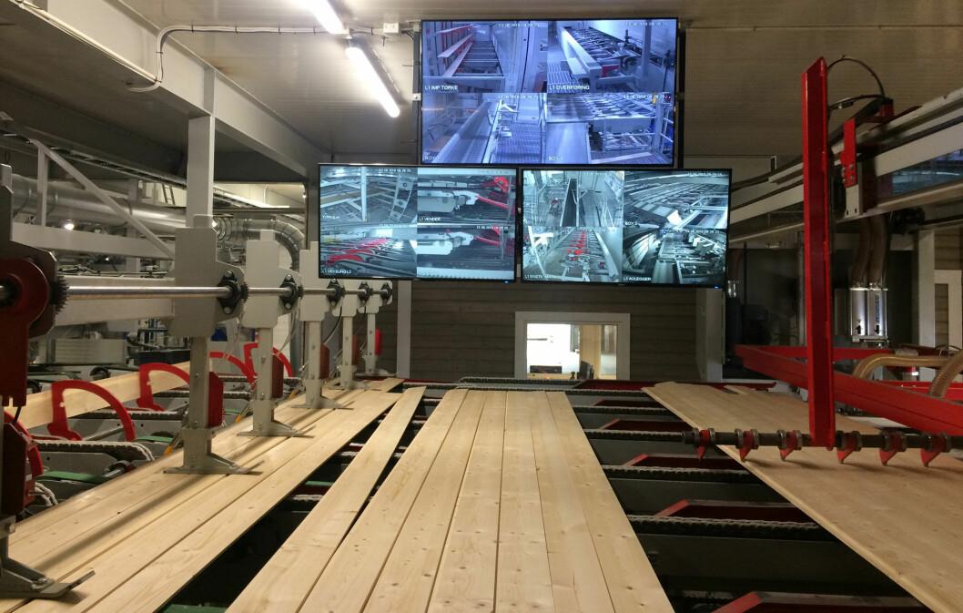 Fra det nye produksjonsanlegget til Gausdal Bruvoll SA. (Foto: Gausdal Bruvoll SA)
