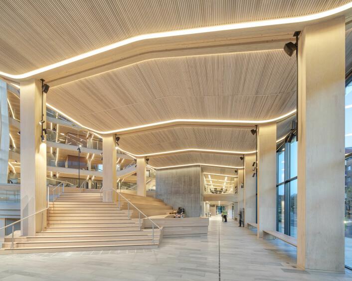 Finansparken (foto: Sindre Ellingsen)