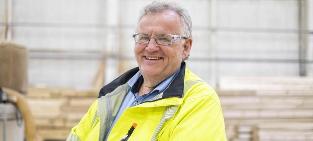 Konsernsjef Morten Kristiansen. (Foto: Moelven)