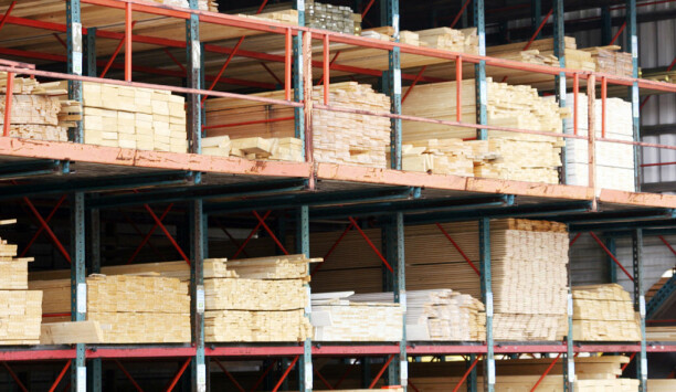 Fortsatt økende etterspørsel etter byggevarer i tre