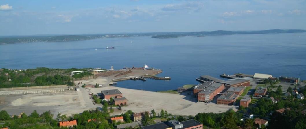 Demonstrasjonsanlegget skal bygges på Tofte i Hurum kommune.