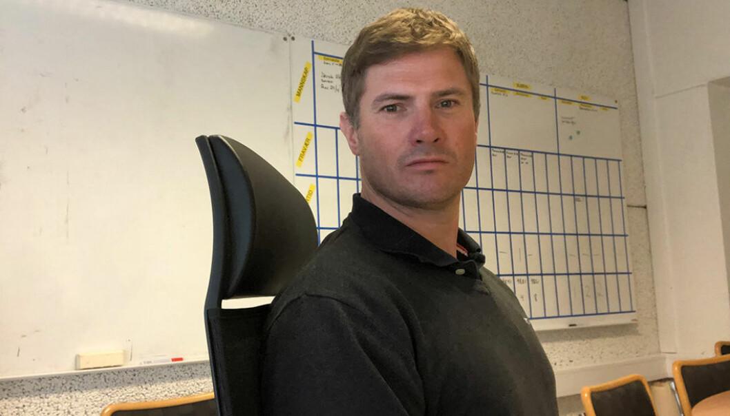 Ståle Sagstuen, påtroppende direktør i Optimera Byggsystemer.