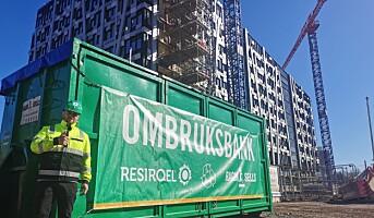 Lanserer ombruksbank i byggebransjen
