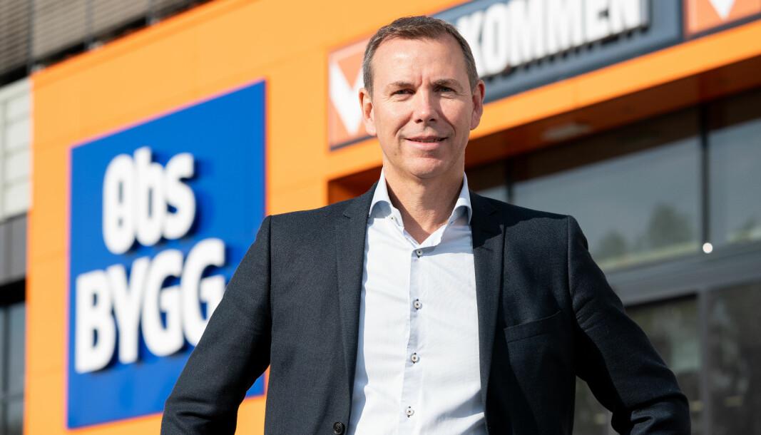 Espen Braaten, kjededirektør i Obs BYGG.