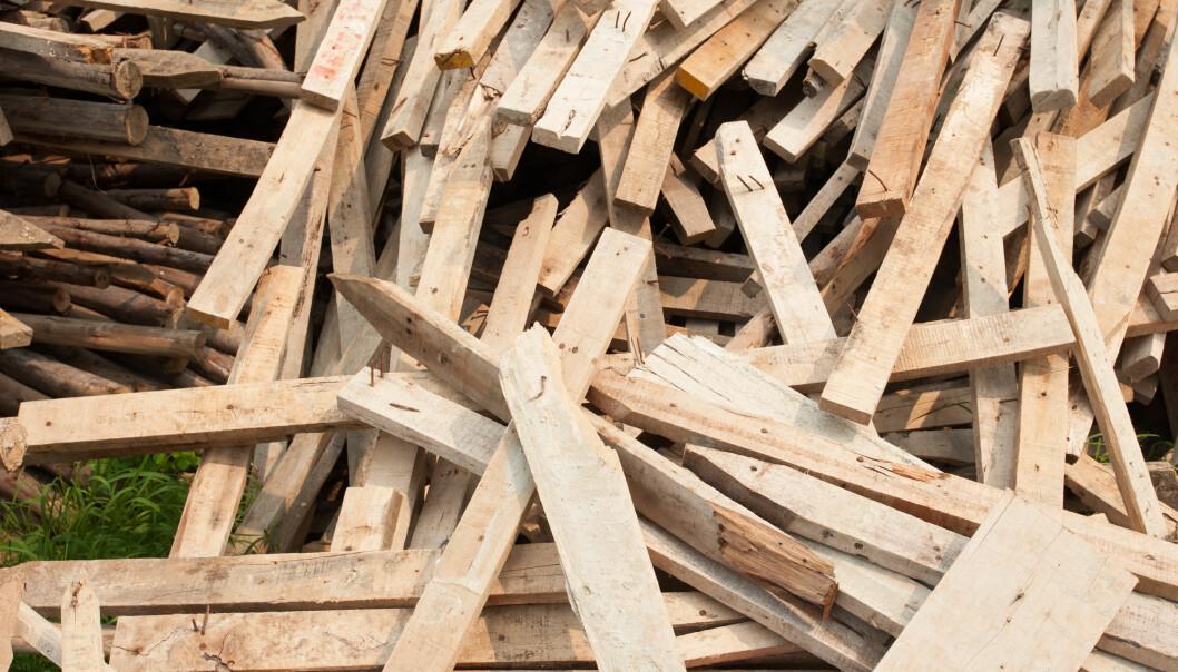 Mengden avfall fra byggenæringen vokste fra 1,8 millioner tonn i 2013 til 2 millioner tonn i 2017.