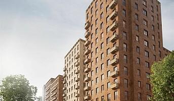 Veidekke Eiendom med Sveriges største boligblokk i massivtre
