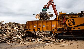 Nytt selskap skal øke materialgjenvinning av avfallstrevirke