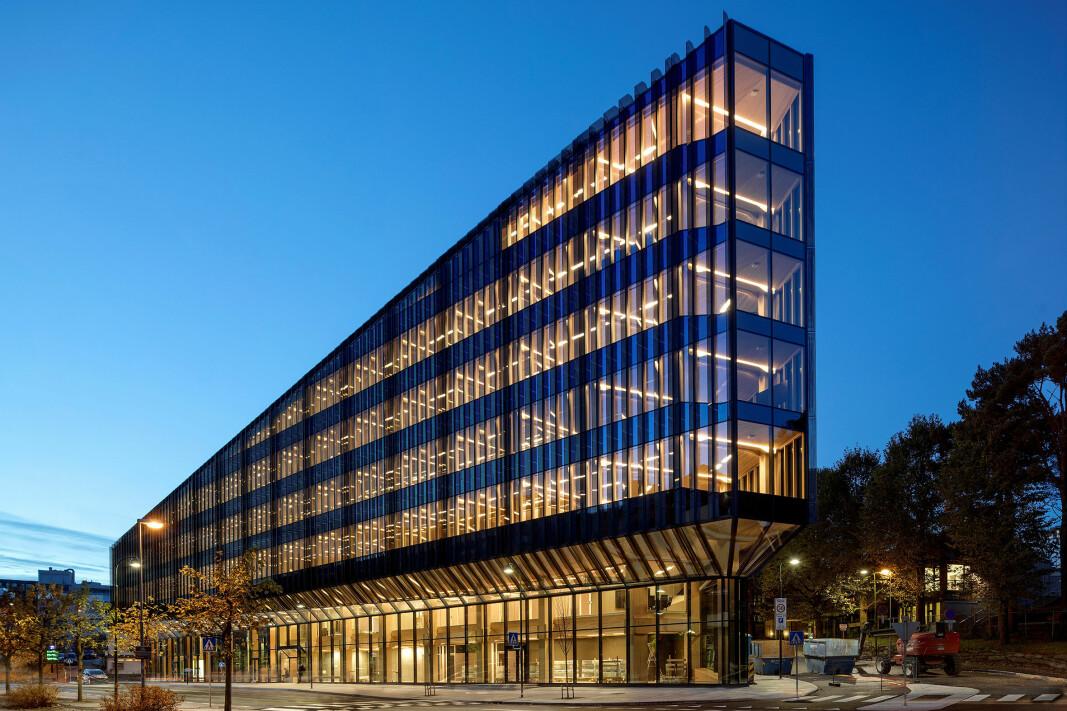 Årets trebyggeri 2019 ble næringsbygget Finansparken, som er det nye hovedkvarteret til SR Bank i Stavanger.