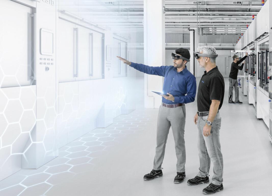 Når maskinene blir mer intelligente, trengs det ansatte med annen kunnskap på sagbruket eller trevarefabrikken, og sannsynligvis blir det enda flere jobber, spår Festo.