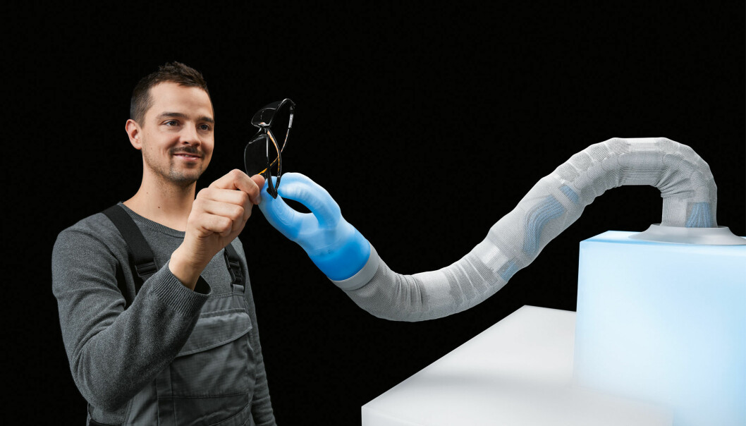 Roboter som skal klare seg selv, må også være mykere i grepet og forsiktige nok til å arbeide sammen med mennesker.