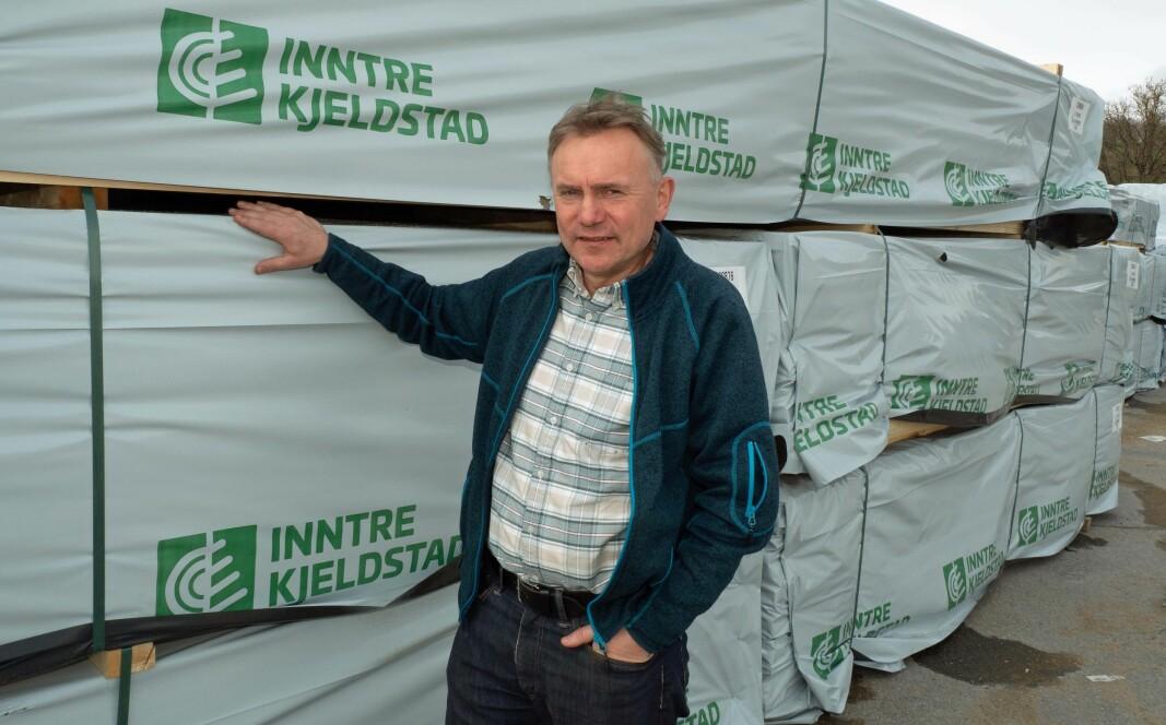Gisle Tronstad og Inntre investerer 30 millioner kroner i nytt høvleri og lar ikke koronaen påvirke de planene.