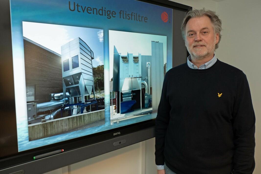 Du kan anlegget ditt, men jeg har jobbet med avsug og filteranlegg i 25 år og kan mye om mulighetene, sier Heikki Erling Systad i Itek.
