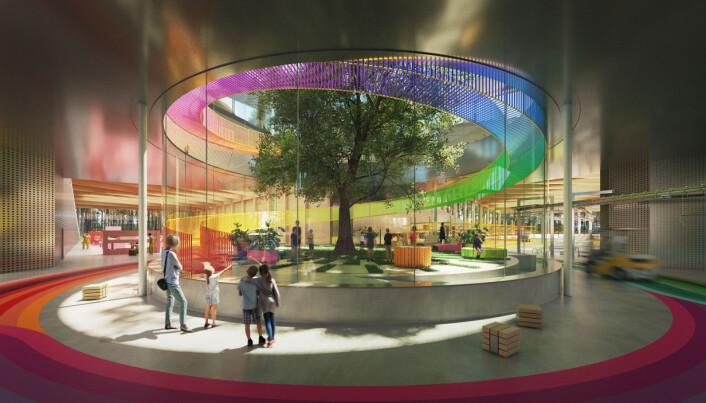 Vestre bygger verdens mest miljøvennlige møbelfabrikk