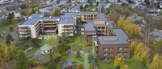 Veidekke bygger sykehjem i massivtre