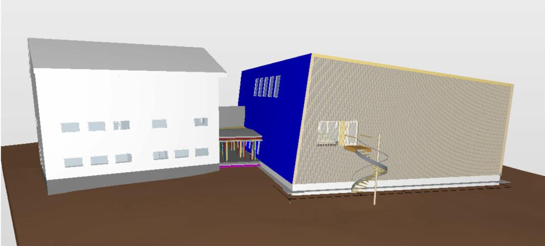 I midten av februar 2021 får Svinndal skole i Våler ny gymsal i massivtre.
