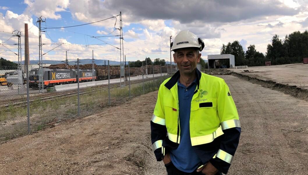 Rolf Jarle Aaberg, daglig leder i Treklyngen.