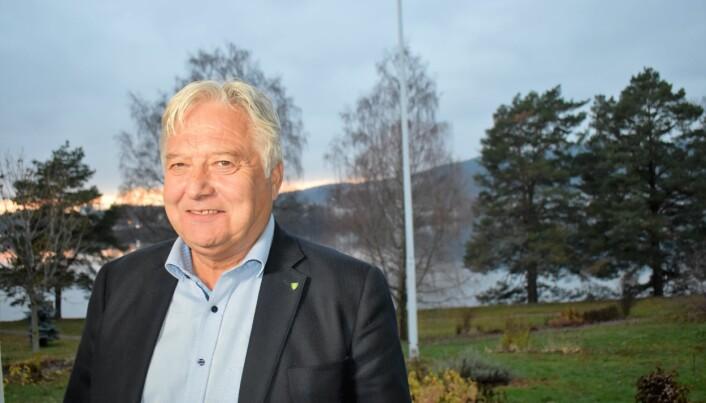 Olav Breivik, styreleder i Treklyngen og Viken Skog.