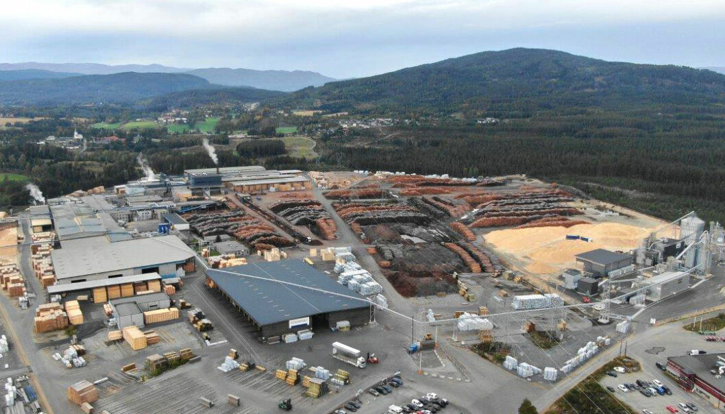 Byggingen av det nye anlegget på Moelven Soknabruket AS skal etter planen være ferdig høsten 2021.