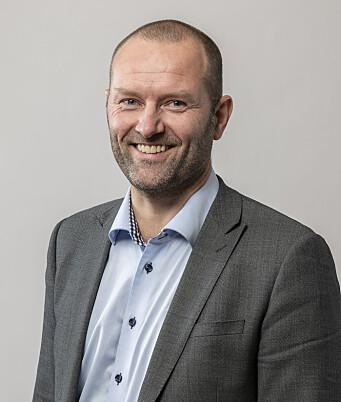 Bjarne Hønningstad, divisjonssjef i Moelven Wood.
