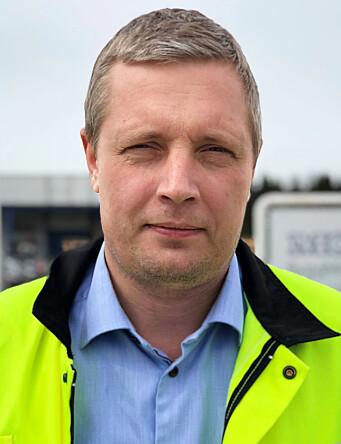 Lars Brede Aandstad, daglig leder i Moelven Byggmodul AS.