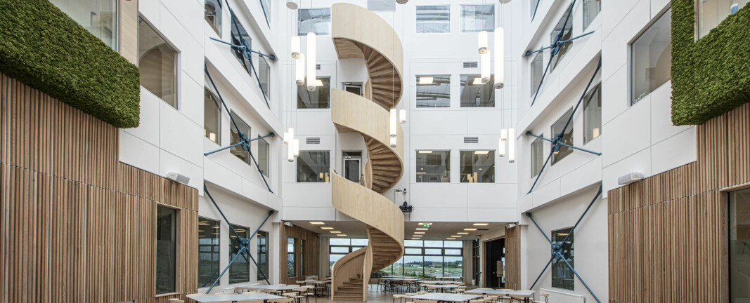 Melby Snekkerverksted vant for fjerde gang «Årets trapp» i Tyskland