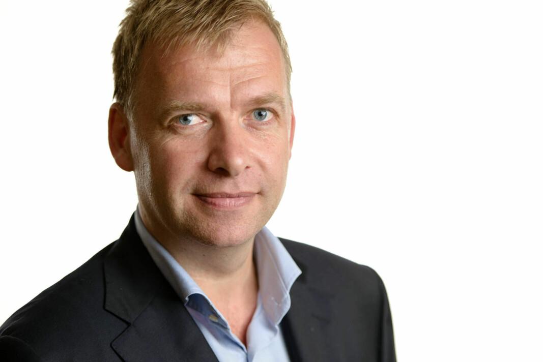 Arne Jebsen, administrerende direktør i Hunton Fiber
