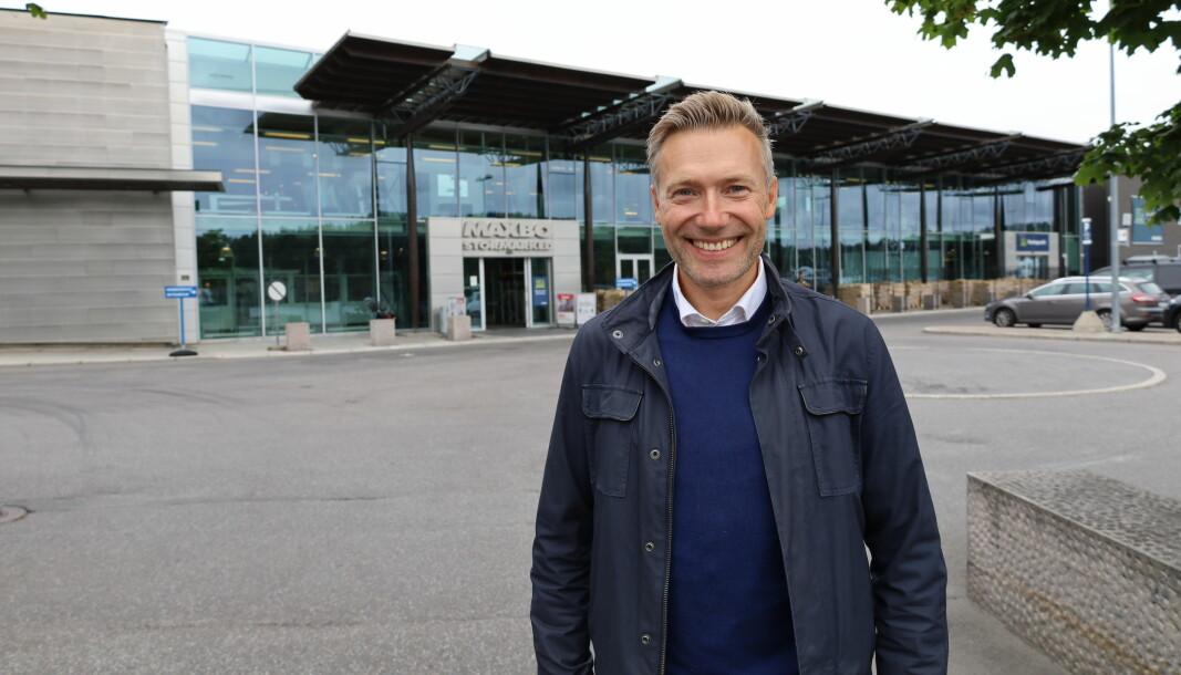 Christoffer Aas Clementz, sjef for Byggesystemer i Løvenskiold Handel AS.