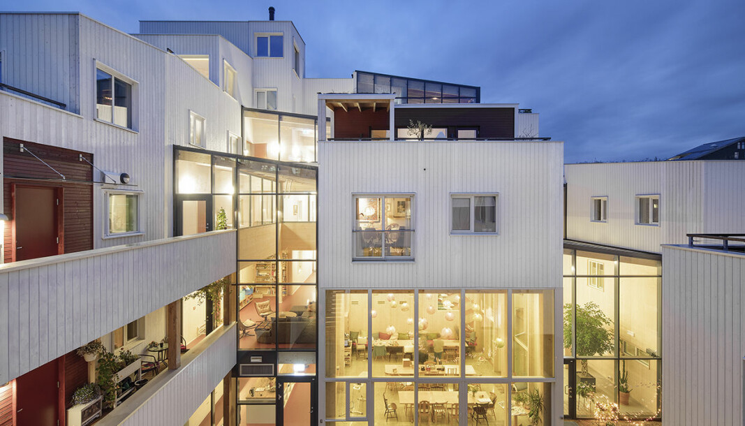 Vindmøllebakken bofellesskap i Stavanger vant Statens pris for byggkvalitet 2020.